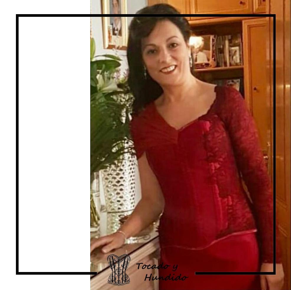 Vestido madrina corset y falda