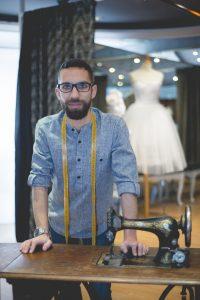 Sergio Barrón, diseñador de Tocado y Hundido
